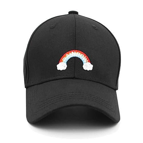 WDBUN Baseball cap Regenboog Borduurwerk Man caps vrouwen Baseball Caps Mannen Hoeden Snapback zwart kopen Cap mannelijke Dad Hat Hip Hop Nieuw