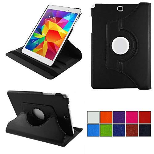 COOVY® 2.0 Cover für Samsung Galaxy Tab A 9.7 SM-T550 SM-T551 SM-T555 Rotation 360° Smart Hülle Tasche Etui Hülle Schutz Ständer Auto Sleep/Wake up | schwarz