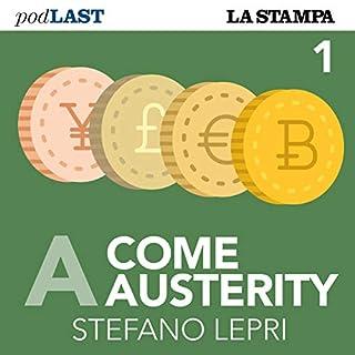 Austerity (A come Austerity 1) copertina