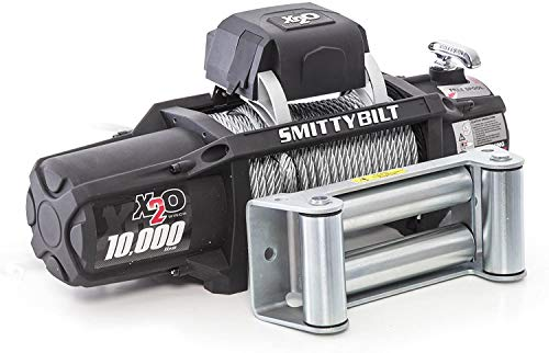 Smittybilt X2O - Waterproof Steel Cable Winch - 10,000 lb. Load Capacity