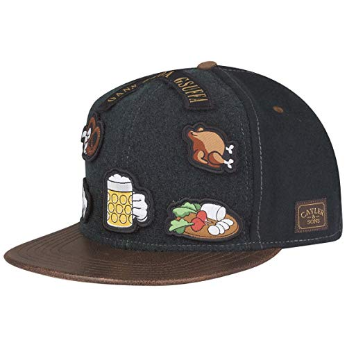Cayler und Sons Snapback O BABT is Forest Green Brown, Size:ONE Size