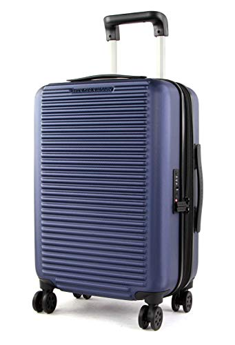 Mandarina Duck - Tank Case Trolley Cabin EXP / BLU, Luggage- Suitcase Mujer, Blau, Blau, One Size - P10FSV21177