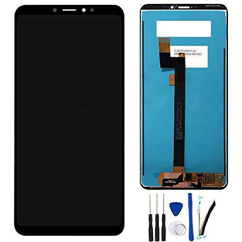 "SOMEFUN Pantalla LCD Repuestos Compatible con Xiaomi Mi MAX 3 2018 6.9"" LCD Pantalla Táctil Digitalizador Asamblea de Vidrio【Negro sin Marco】"