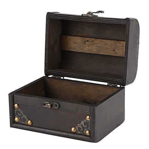 CUTULAMO Caja De Almacenamiento, Caja para Joyería, Duradera, Segura De Usar, Vintage para Aretes para Collar