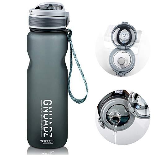 GNUADZ 36oz Motivational Water Bottle