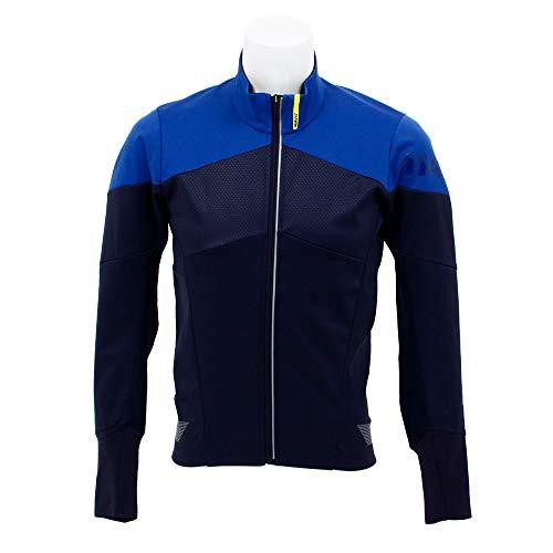 MAVIC Cosmic Thermo Winter Fahrrad Jacke grau/blau 2020: Größe: L (50/52)