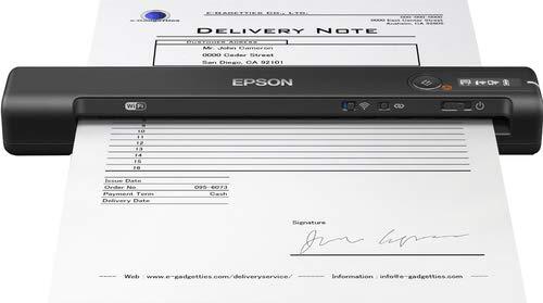 Epson WorkForce ES-60W Scanner Portatile, 8.5 ppm, WiFi e...