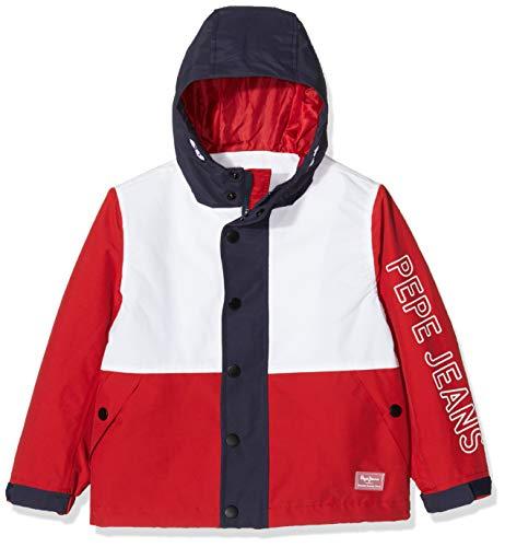 Pepe Jeans Maple Chaqueta, Rojo (Flame 265), 13-14 años (Talla del Fabricante: 14Y/164) para Niños
