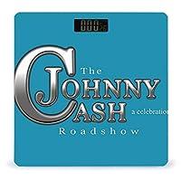 Johnny Cash 体重計 デジタル 電子スケール ヘルスメーター 電源自動ON/OFF バックライト付き 高精度ボディースケール コンパクト 電池式 薄型 収納便利 体重管理