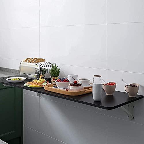 Mesa plegable invisible montada en la pared, mesa flotante de cocina, mesa de comedor, mesa de almacenamiento, computadora portátil, escritorio