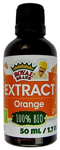 Estratto naturale di acqua al fiore di arancio bio, bottiglia di vetro per una migliore qualità/ 50 ml
