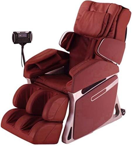 Fujiiryoki FJ-4800RED Model FJ-4800 Dr. Fuji Cyber-Relax Massage Chair, Red, Swing Massage On Neck, Shoulder Massage, Wait Massage, Shiatsu, Air Bag & Vibration Massage On Buttocks