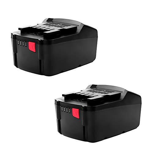 CELLONIC 2X Batería Premium 18V, 3Ah, Li Ion Compatible con Rothenberger Romax 4000, Romax Compact TT, Birchmeier Reb 15 AC1 bateria de Repuesto 6.25527, 6.25455, 6.25468, 6.25457 Pila