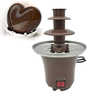 Chocolate Fountain Machine Chocolate Melting Machine Stainless Steel Heating Electric Chocolate Heating 30W Home Party Cho...
