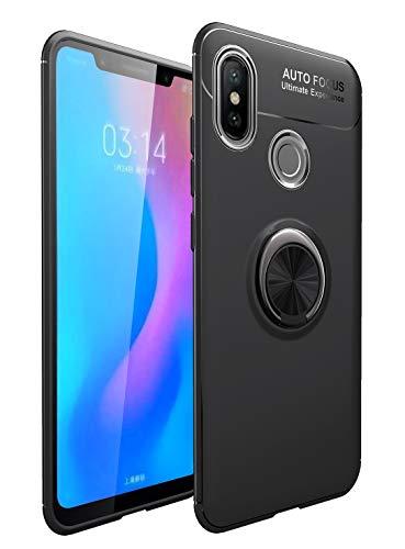 Capa Anel para Xiaomi MI 8 - Preta (Não Lite)