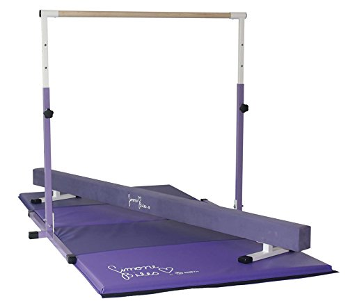 Team Sports SIMOME Biles Gymnastics Gold Star Package-MAT, Beam and BAR Combo!