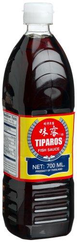 Tiparos Fischsauce A-Qualität, 6er Pack (6 x 700 ml)