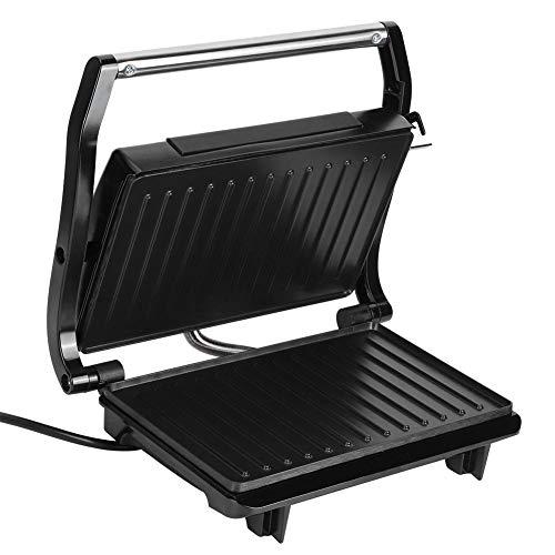 Panini Press Grill Sandwich Maker 2 fette Piastra rivestita antiaderente a doppia faccia, compatta e portatile, superficie in acciaio inossidabile per adattarsi a qualsiasi tipo o dimensione di cibo