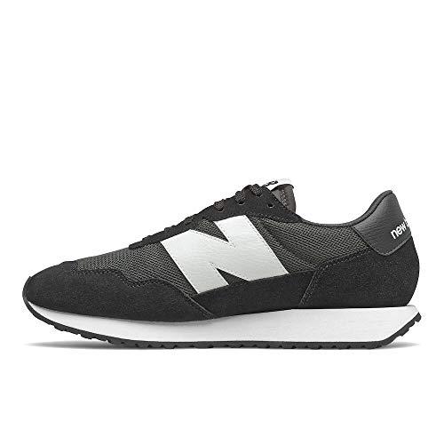 New Balance 237 Hombre Zapatillas Negro 43 EU