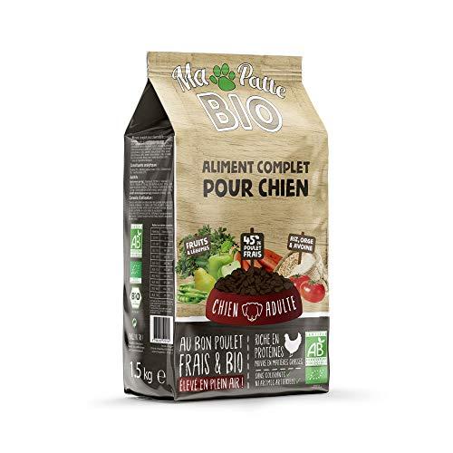 Ma patte bio - Croquettes Bio pour Chien Adulte - 1,5kg