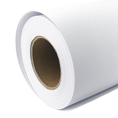 Rollo de papel para plóter Mate 108g/m², 61cm x 30m A1A2Inkjet Your Design gestrichenes Papel universal impermeable, adecuado para tintas de colores y pigmento