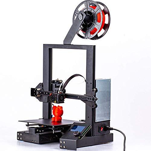 Imprimante 3D Haute Précision, 3D DIY Facile à Monter 220 * 220 * 250 mm Taille d'impression de Vie Impression de Soutien PLA, ABS, Détection Rupture de Filament et Reprise de Dernière Impression