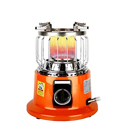XLNB Camping Herd Tragbar, Gasherd, Mini Zelt Heizofen Für Outdoor Backpacking Wandern Reisen BBQ,Liquefied Gas Heater a