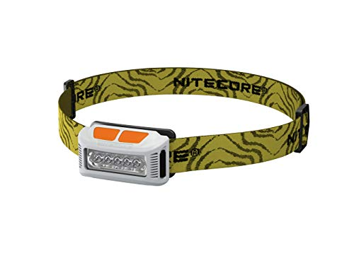 Nitecore NU10W Linterna Frontal de Carrera a pie, para Adultos, Unisex, Color Blanco