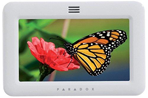 Paradox TM50W Touchscreen Tastatur für Zentrale DIGIPLEX Evo Magellan MG5000/MG5050 Spectra SP SP4000 SP65 Farbe Elfenbein