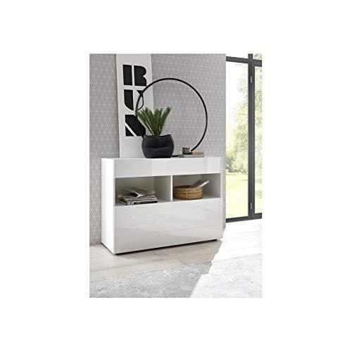 Azura Home Design - Aparador soprano, color blanco