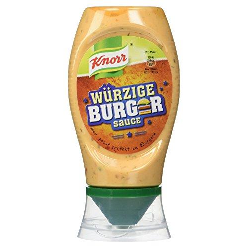 Knorr Würzige Burger Sauce, 250 ml
