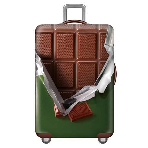 Haodasi Verdicken Kofferschutzhülle Reisekoffer Hülle Größe M für 22-25 Zoll Waschbaren Koffer Schutz Kofferhülle (ohne Koffer) Grün