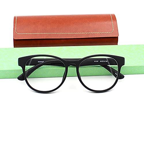 Gafas de Lectura de TR90 con bisagras de Resorte, Gafas de Hombre y Mujer Unisex, Funda Gratis, Anti Blue Light Gafas de Lectura, Dioptrías +1.00 hasta +3.50
