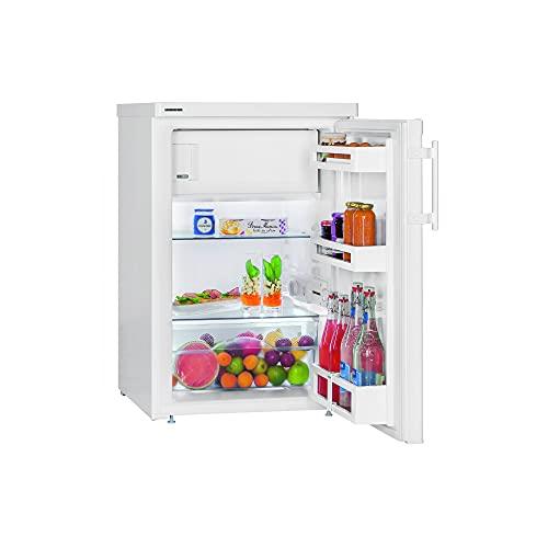 LIEBHERR Frigorífico de Mesa TP 1414 Comfort Nevera con Congelador 4* A++ 120 litros 85,0x55,4x62,3 cm 2 Estantes 1 Cajón Porta Botellas Color Blanco