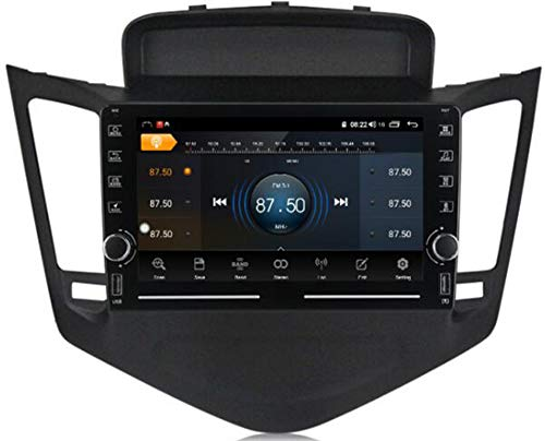 WYFWYT Android 9.0 Autoradio Bluetooth Coche para Chevrolet Cruze 2008-2014 1 DIN Radio Coche USB Soporte Dab+ GPS Mandos de Volante FM Carplay WiFi Bluetooth,WiFi 1g+16g