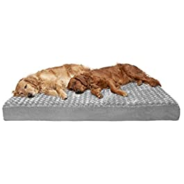 Furhaven Pet Dog Bed | Mattress Pet Bed for Dogs & Cats Styles
