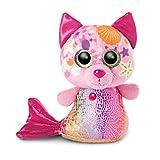 NICI 46825 Original – Glubschis Sirena Gato Aqua–Marie 15 cm I Juguete Suave para niños Desde 0 Meses y Adultos I Animal de Peluche con Grandes Ojos Brillantes, Color Rosa