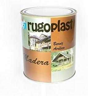 Rugoplast - Barniz de Hormigón Impreso de máxima calidad, ideal para barnizar todo tipo de piedra porosa, hormigón y derivados