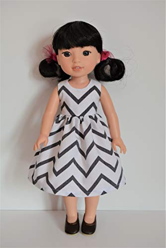 Handmade Doll Clothes Mermaid Costume Assorted Colors fit American Girl 14.5 Wellie Wishers and H4H Dolls B
