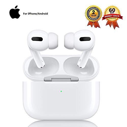 Auricolari Bluetooth Cuffie Bluetooth Pro 5.0 Cuffie Wireless Sportive IPX7 Impermeabili Riduzione del Rumore Stereo 3D HD Insonorizzato adatte per Apple AirPods Pro/Android/iPhone Cuffie In Ear