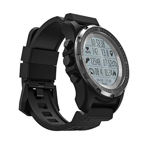 QTEC Smart Watch Neue Schwarze GPS kompass tacho sportuhr Bluetooth pulsmesser smart Band Multi-Sport Fitness Tracker smart Watch