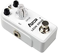 AZOR Leon Ultimate Drive Overdrive Guitar Effect Pedal with True Bypass AP-316