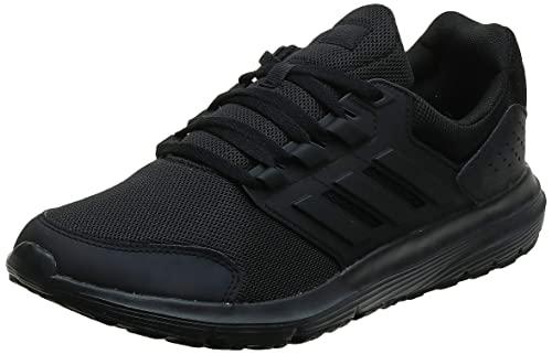 adidas Galaxy 4, Zapatillas de Entrenamiento Hombre, Negro (Core Black/Core Black/Footwear White 0), 43 1/3 EU
