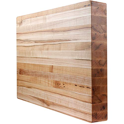 Tennessee Butcher Blocks Maple Edge Grain Cutting Board 24 x 24 x 1