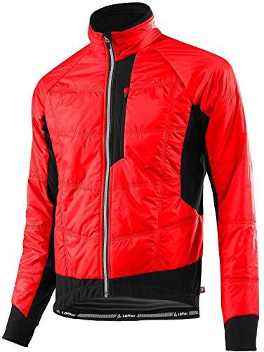 Loeffler Bike ISO della giacca Primaloft Mix–Rosso