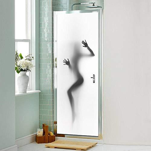 GenericBrands 3D Tür Wandbild Aufkleber Frauenfigur Türaufkleber für Wohnzimmer Kids Baby Kinder Abnehmbare Vinyl Tapete Art Home Dekoration 77X200cm