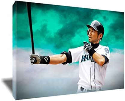 Iconic Our shop OFFers the best service Legend Ichiro Suzuki Painting Max 46% OFF on Poster Ar Canvas Artwork