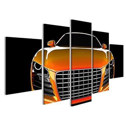 Cuadro coche deportivo moderno