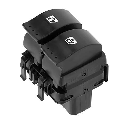 Interruptor de elevalunas eléctrico Botón de control de la ventana delantera derecha Accesorio de coche apto para O-pel Movano Re-nault Clio (MK II) Espace (MK IV) Master (MK II) Megane (MK II) OEM 82