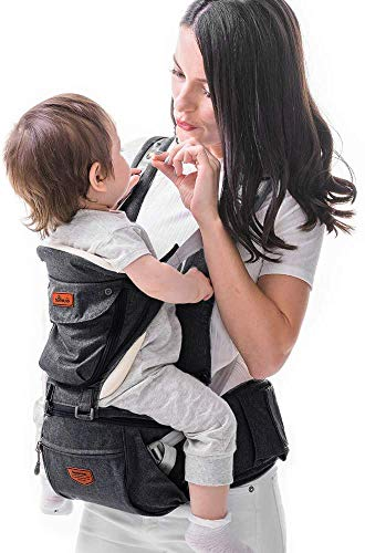 SUNVENO carrito de bebé con capucha Hipseat cartucho